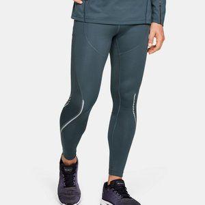 UA RUSH ColdGear Running Leggings L Sample New